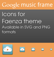 Google Music Frame for Faenza by ArturoIlhuitemoc