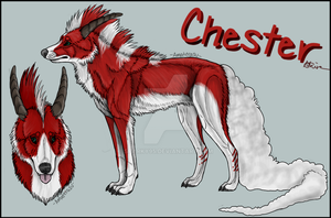 Reference Sheet : Chester by Sparky95