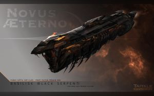 Basilisk-Black Serpent by AdamBurn