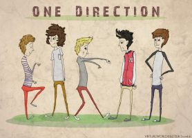 One Direction Fan Art by Sonnenkralle