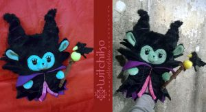 Alpaca Maleficent by Witchiko