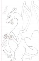 My Charizard by FalconFlute