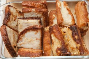 Fried stuffed bread by patchow