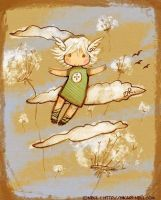 To fly by Hikari-Nell