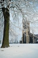 Snow at Lisburn Church by Gerard1972