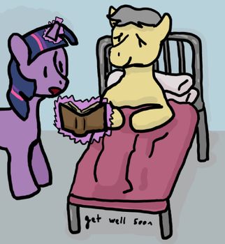 Get Well Soon Silver by Max-is-awesome