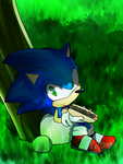 Sonic With the Chili Dog by Baitong9194