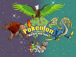 List of Marble and Jade Fakemon-- Right here! by Suicunesrider