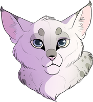 Blizzardkit Headshot [for Phantomsylveon] by Hoxau