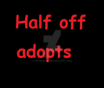 Half off adopts by Hypericty