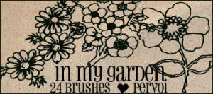 Flower brushes by PervoiBrushes