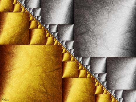 Gold and Silver II by Klytia70