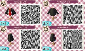 Animal Crossing New Leaf - Nostalgia Critic QR by TechieWidget