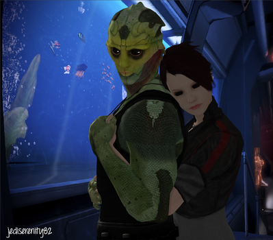 I've Got You - Zara and Thane {Mass Effect} by jediserenity82