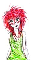 Red headed Girl by MessedUpEssy