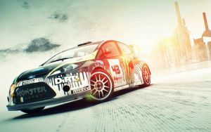 Ken Block's Fiesta by luke88cb
