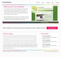 Portfolium Design by arscube