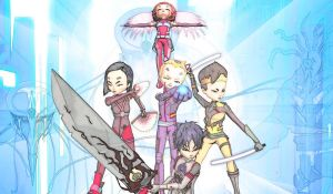 Code Lyoko Fan Art by Ichimokuren10