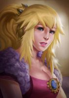 Princess Peach by rickyryan