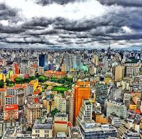 City View in Sao Paulo, Brazil by leka1231