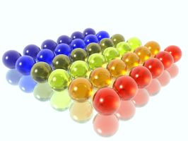 colored glass balls of color by BCBomb47