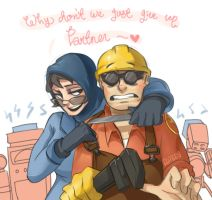 Why Don't We Just Give Up, Partner? by CuteC3