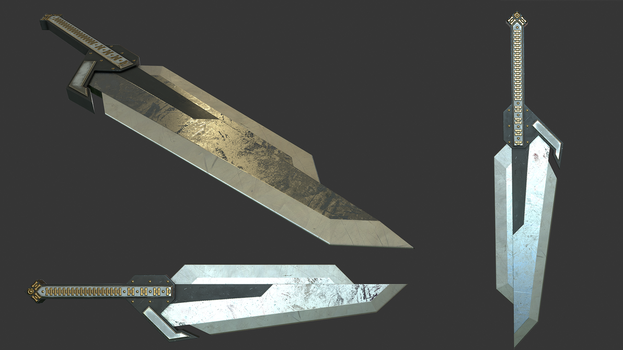 Heavy Greatsword by mexpex