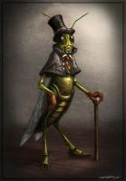Jiminy Cricket by crackfiji42