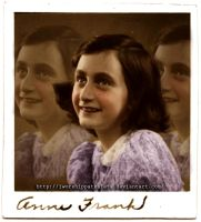 Meekly Anne Frank by Livadialilacs