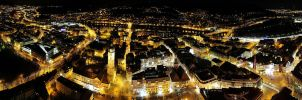 City Night Panorama 1 by hquer