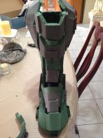Halo 4 Master Chief armor by silvereyedsurfer