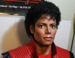 Michael Jackson 1/1 lifesize Thriller era bust by godaiking