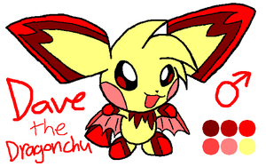 Dave the DragonChu by HeartinaThePony