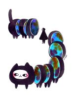 multidimensional caterpillars by koyamori