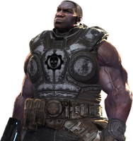 Gears of War - A. Cole Render by LoraWow