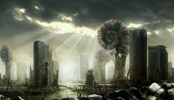 Post-apocalyptic City by petersiegl