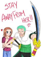 Stay Away From Her - 4 GD by zoro4me3