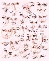 Women's faces by JoniGodoy