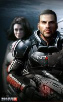 Mass Effect 2 Poster by arafo