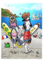 furcon book entry by LilleahWest