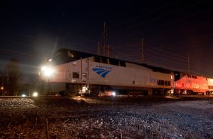 AMTRAK 48 at the bend 2-4-12 by wolvesone