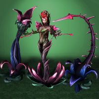 League of Legends Zyra by ArmachamCorp