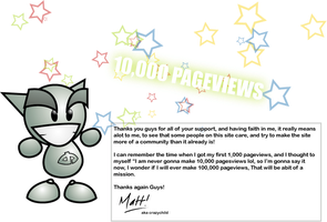 10,000 Pageviews by crazychild