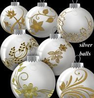 Silver Balls by roula33
