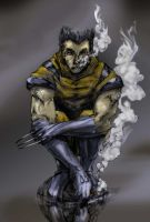 Wolverine Colored by kidtrip98