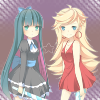 Panty and Stocking by jauni