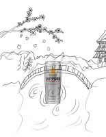 Sapporo entry (I need a title) by GrimmlingGoddess