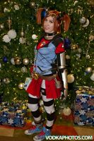 Merry Christmas from Gaige the Mechromancer! by Viverra1