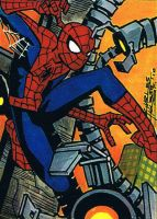 Spider-man sketch card by KidNotorious