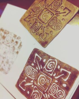 Stamping by Nymla